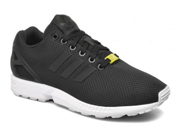Adidas ZX Flux черные с белым (40-45)