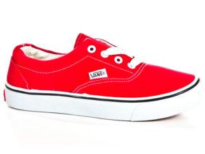 Кеды Vans Authentic женские красные - фото справа