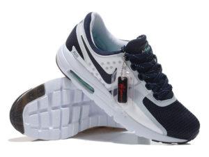 Кроссовки Nike Air Max 87 белые с темно-синим мужские - фото справа