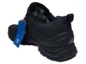 Зимние Adidas Climaproof Low черные - фото сзади