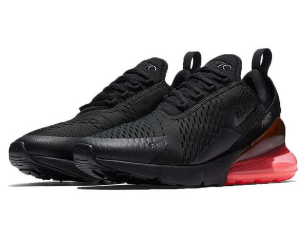 Nike Air Max 270 черные с красным (40-45)
