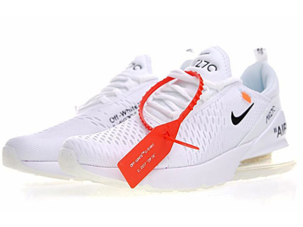 Nike Air Max 270 Off White X белые (35-45)