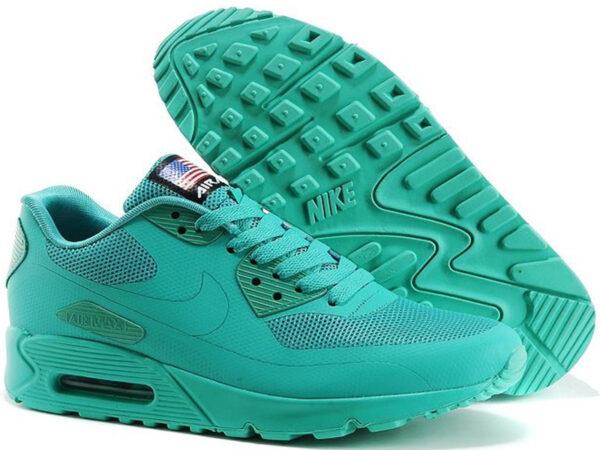 Nike Air Max 90 Hyperfuse бирюзовые (35-40)