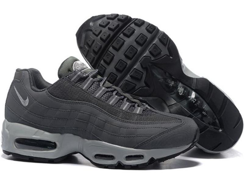 Nike Air Max 95 темно-серые
