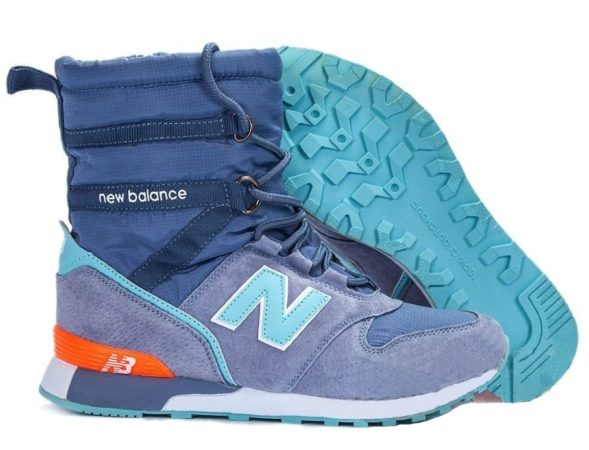 Сапоги New Balance Snow Boots синие 36-40