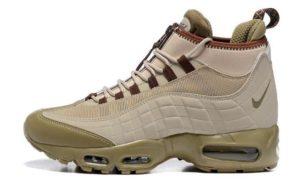 Зимние Nike Air Max 95 Sneakerboot коричневые (40-45)