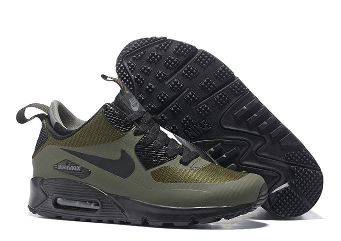 Nike Air Max 90 Winter Mid green зеленые (41-44)