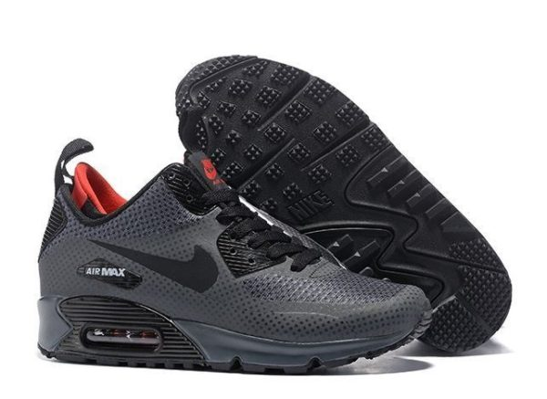 Nike Air Max 90 Winter Mid gray серые (41-44)