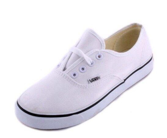 Белые кеды Vans