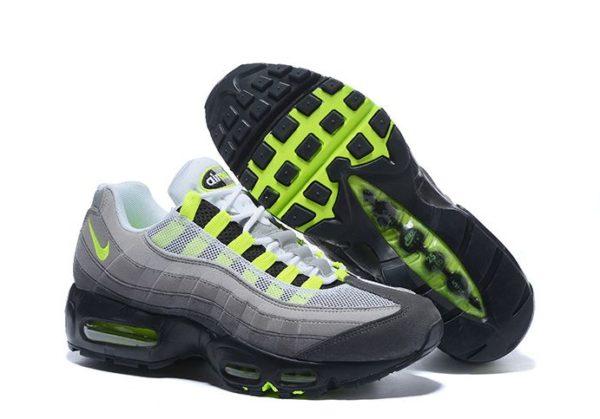 Nike Air Max 95 Серо-зеленые (35-45)