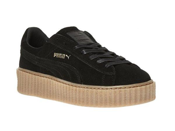 Puma Rihanna Creepers чёрные (35-40)