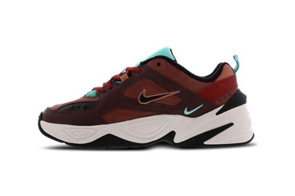 Кроссовки Nike M2K Tekno бордовые-(35-44)