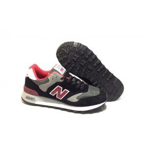Кроссовки New Balance 577 черно с красным 40-44