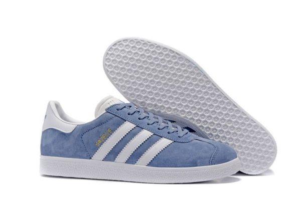 Adidas Gazelle голубые (35-39)