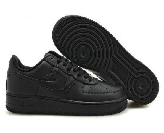 Кроссовки Nike Air Force 1 low черные (35-45)