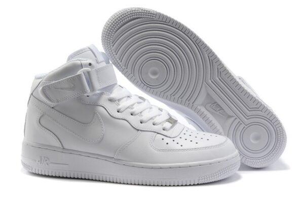Кроссовки Nike Air Force 1 белые (35-45)