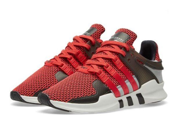 "Adidas EQT Support ""ADV"" красные с белым (35-43)"