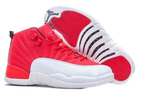 Nike Air Jordan 12 Retro красные (40-45)