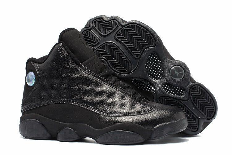Air Jordan 13 Retro All Black черные (40-45)