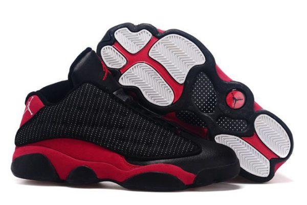 Nike Air Jordan 13 Retro черные с красным (40-45)