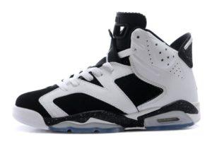Air Jordan 6 Retro белые с черным (39-45)