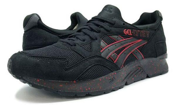 Asics Gel Lyte 5 черные с красным (39-43)