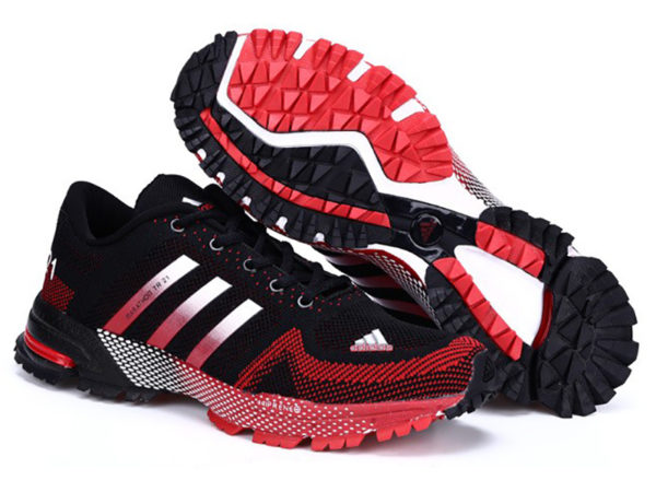 Adidas Marathon tr21 черно-красные