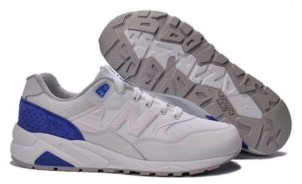 New Balance 580 белые с синим (35-39)
