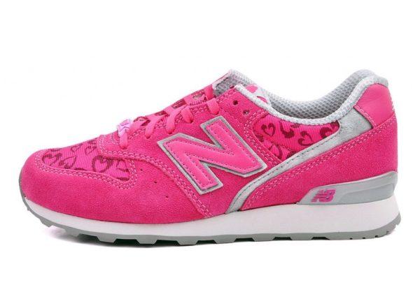 New Balance 996 малиновые с розовым (35-38)