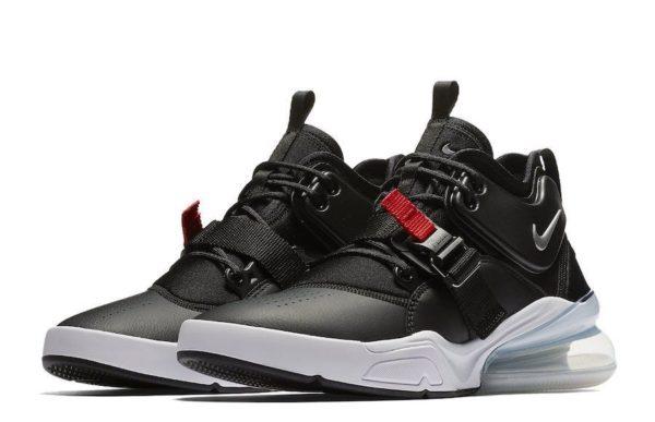 Nike Air Force 270 черные с белым (40-44)