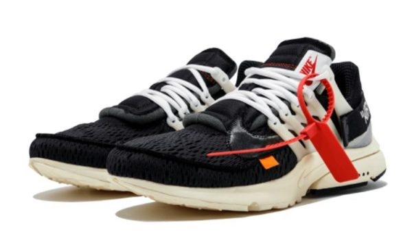 OFF-WHITE x Nike Air Presto черные (39-44)