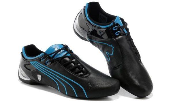 Голубые кроссовки Puma