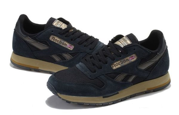 Reebok Classic Leather Utility темные-синие (39-44)