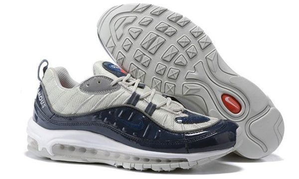 Supreme x Nike Air Max 98 «Navy» (39-44)