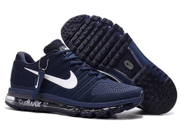 Nike Air Max 2017 темно-синие (40-45)