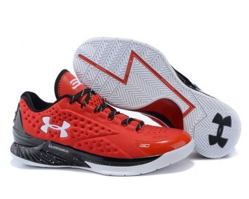 Under Armour Stephen Curry 1 Low красные (39-45)