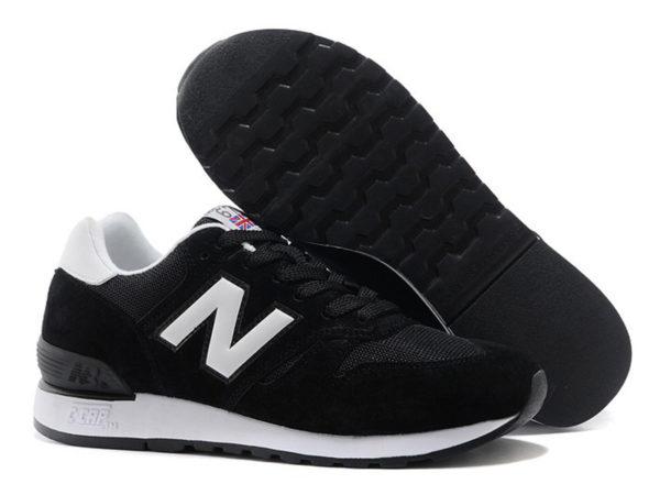 New Balance 670 черные с белым (35-44)