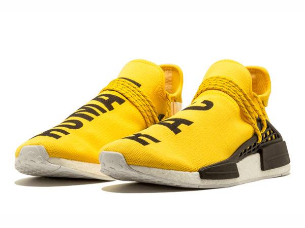 Кроссовки Adidas NMD Human Race желтые (39-43)
