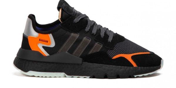 Adidas Nite Jogger черные (40-44)