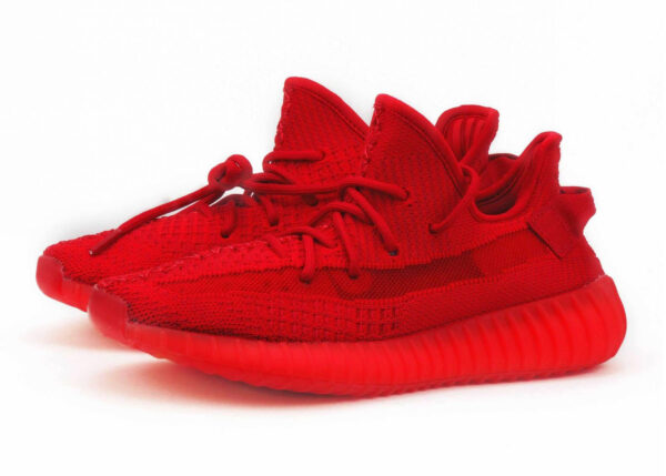 Adidas Yeezy Boost 350 V2 Static red «Glow» (35-44)