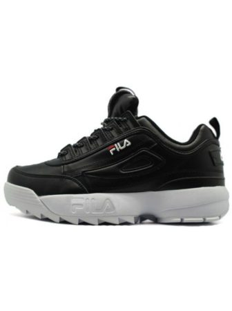 Fila Disruptor 2 black white черные с белым (35-39)
