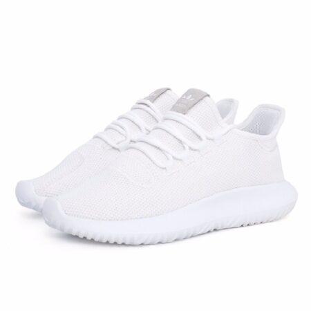 Adidas Tubular Shadow Knit белые мужские (40-44)