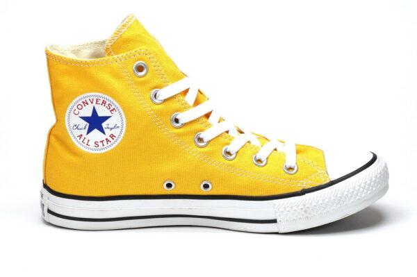 Converse Chuck Taylor All Star High желтые мужские-женские (35-43)