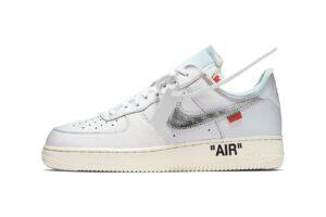 Nike Air Force 1 LV8 белые с серебристым (35-44)
