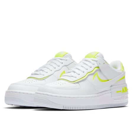Nike Air Force 1 Shadow бело-желтые (35-39)