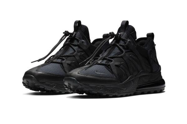 Nike Air Max 270 Bowfin черные мужские (40-44)