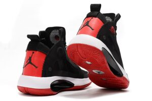 Nike Air Jordan 34 черно-красные (40-45)