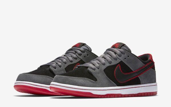 Nike SB Zoom Dunk Low Pro серо-черные (40-44)